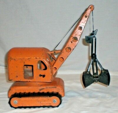 "Vintage Lincoln 1940's 50's Shovel Crane 12"" Tall"