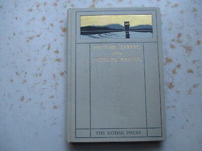 Picture Taking and Picture Making 1899 Kodak Press HC Inserted NC Film Brochure