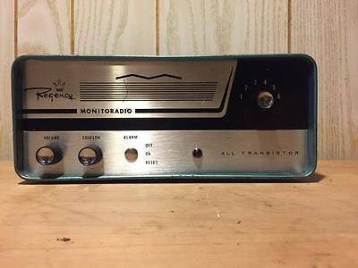 Crystal Controlled Fm Receiver Monitoradio Div. Regency Electronics Model Tm-L2