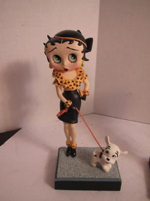 "Betty Boop ""OUT FOR A STROLL"" Danbury Mint Collectors Figurine"