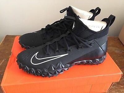 NIKE Alpha Huarache 6 Elite Turf Lax 923426 011 Lacrosse Shoes 9.5