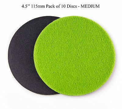 4.5 inch (115mm) GP100 Abrasive Disc for Glass Scratch Repair, MEDIUM GRADE (...