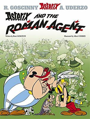 Asterix and the Roman Agent by Uderzo, Albert Hardback Book The Cheap Fast Free