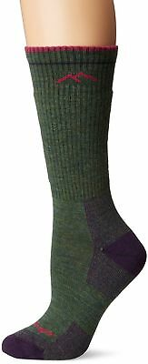 Darn Tough Vermont Women's Boot Cushion Socks, Moss Heather, Medium