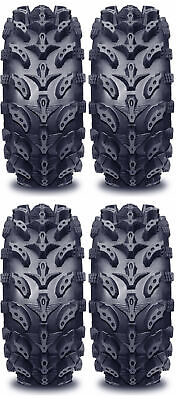 4 Interco Swamp Lite ATV Tires Set 2 Front 27x9-12 & 2 Rear 27x10-12 SwampLite