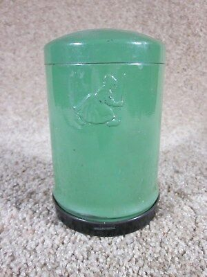 Vintage - Green Metal - Dutch Girl Cleanser - Canister