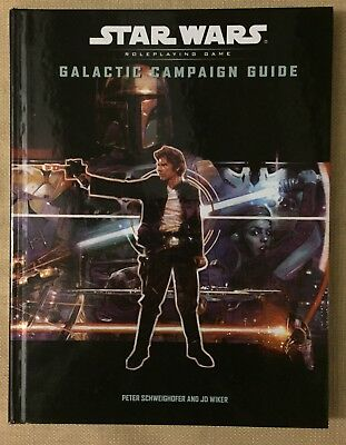 WIZARDS OF THE COAST Star Wars Galactic Campaign Guide D20 WOTC 2003 NM