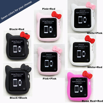 Cute Hello Kitty Apple Watch Cover Case For Apple Watch Series 4 3 38/42/40/44mm