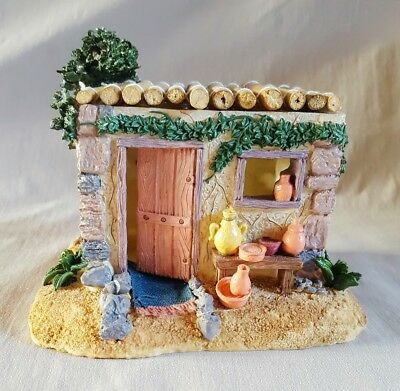 Star Over The Holyland Lighted Collectible Bethlehem Nativity Building #03471-m