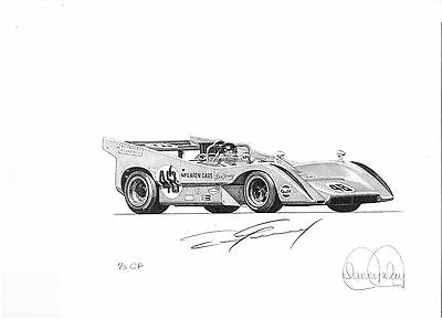 McLaren by Danny Day Autographed by Dan Gurney