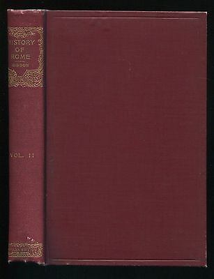Book The DECLINE and FALL of the ROMAN EMPIRE Vol. II by Edward Gibbon 1845