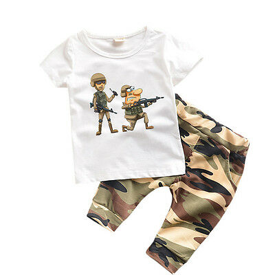 New Kids Boys Clothes Summer New Baby Clothes Children Toddler Boys Clothing Set