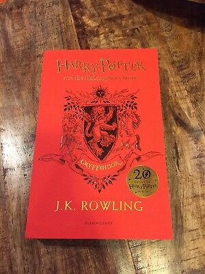 Bloomsbury 20th Aniv. Harry Potter & the Philosopher's Stone, Gryffindor Edition