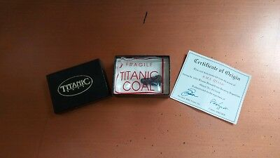 Very Rare Authentic Titanic Coal Recovered from Debris Field