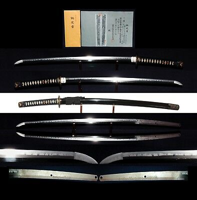 KATANA ANTIQUE JAPANESE SWORD 64.4cm SIGNED 祐永 SUKENAGA , NBTHK TOKUBETSU  KICHO