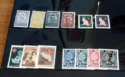 Selection Of Early Yugoslavia Mint Stamp Issues, Good Selection.