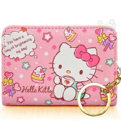 2018 sanrio hello kitty business credit card holder 20 pocket pink pu leather for hello kitty id credit card id card holder business card case reheart Choice Image