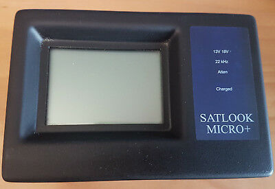 Satlook Micro Micro+ G2 mit Spectrum Analyzer und Easy Find