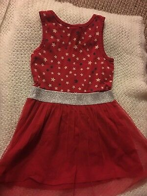 Toddler Red  Dress Size 6x