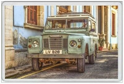 Jumbo Fridge Magnet - Land Rover - 4X4 Landrover - Not Jeep Series 1 2 Defender