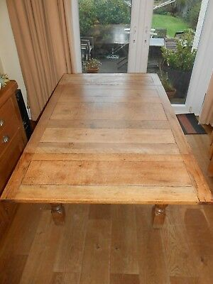 Antique Dining Pull-Out Extending Table