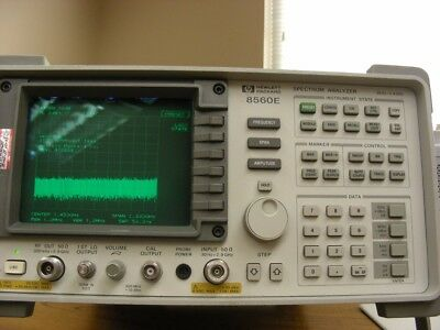 HP Agilent 8560E Spectrum Analyzer 30Hz-2.9GHz Calibrated and works 100%