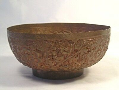 An Old Chinese Copper Bowl T1