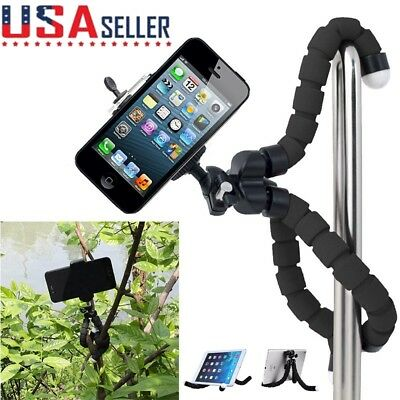 Mini Tripod Flexible Octopus Holder Stand Mount for iPhone Cell Phone Camera US