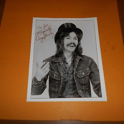 Doug Henning was a Canadian magician, illusionist, escape art Hand Signed Photo