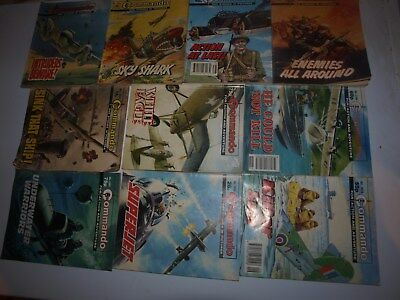 10 Old Commando and battle picture library War books Retro Collectable 7