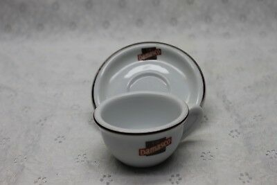 CAFE DAMASCO small advertising cup and saucer made by Schmidt