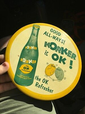 Original Korker 9 Inch Button Sign