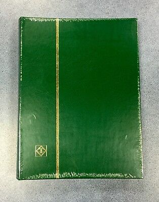 GREEN⭐️A4 Premium** Stamp Album StockBook - 8 Pages/ 16sides ~WHITE PAGES⭐️