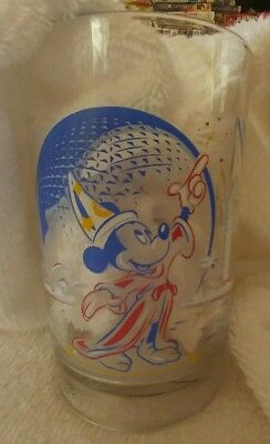 Disney, Epcot, Mickey Sorcerer, 25th , Remember the Magic cup/glass