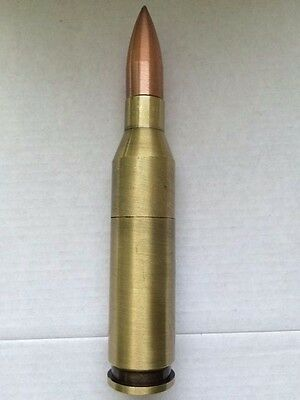 1 Refillable Bullet Jet Flame Lighter with Bronze Tip-1587-1