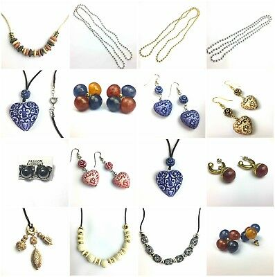 Costume Jewellery Womens Fashion - Hearts, Beads, Necklaces, Earrings