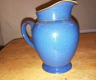 Denby SP imperial blue/ Boston blue? small jug creamer 5 inches seconds?