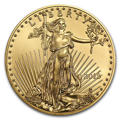 2018 1 oz Gold American Eagle BU