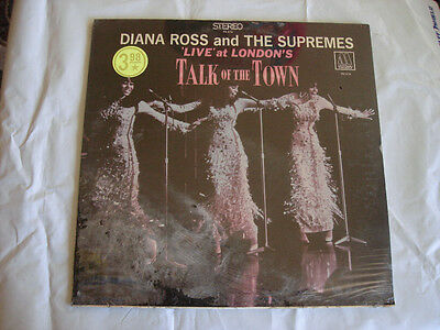 """Diana Ross """"Talk Of The Town"""" LIVE LP MOTOWN MS-676 ~SEALED~"""