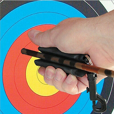 Archery Arrow Puller Target Hunting Shooting Protection Keychain Outdoor