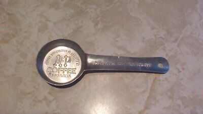A & P Coffee Service, Scoop, Measure, Spoon, One Level Measured To Each Cup