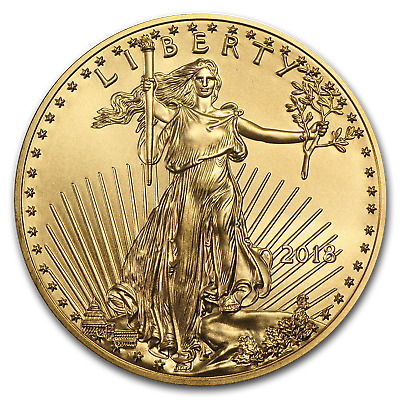 2018 1/2 oz Gold American Eagle BU
