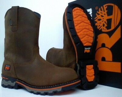 8bbd494a49a0 Timberland PRO AG Boss Soft Toe Work Boots - Waterproof - Round Toe -  TB0A1723