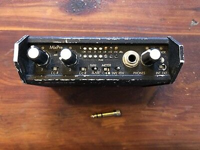 Sound Devices  MixPre - Portable 2 Channel Microphone Field Mixer with AC Power