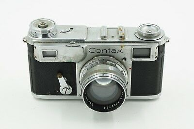 Contax II with Zeiss 5cm f1.5 Jena Lens ****Please Read****