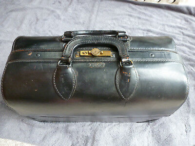 Emdee by Schell Vintage Doctors Medical Bag With Instruments MD