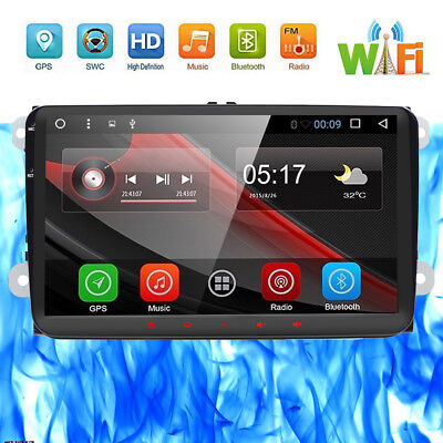 9'' Android 6.0 Car NO DVD Player Multimedia System for VW B6 CADDY PASSAT GOLF