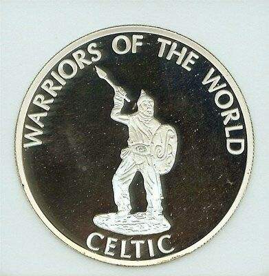 Warriors Of The World 2010 Congo 10 Francs  Perfect Proof Dcam  Celtic