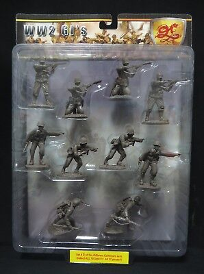 Conte Collectibles 1/32 WWII GI's Bloody Omaha Set#5 Brown