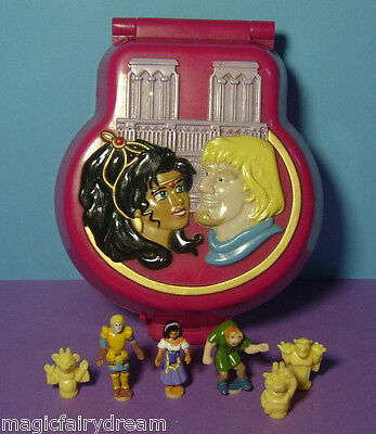 Polly Pocket Mini Disney ♥ The Hunchback of Notre Dame ♥ 100% complete ♥ 1995 ♥